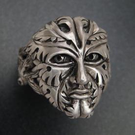 Sterling Greenman Ring by Patrick Burt